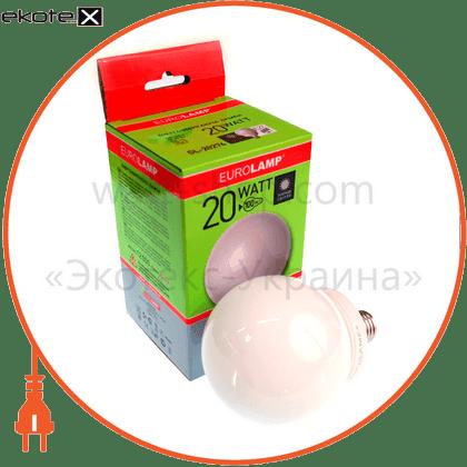 eurolamp клл globe 20w 4100k e27 (50) энергосберегающие лампы eurolamp Eurolamp GL-20274