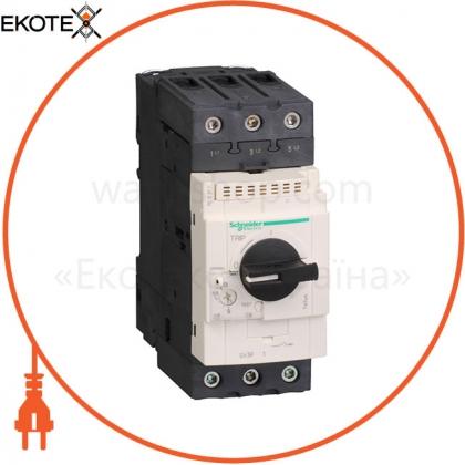 GV3 Автоматический выключатель с комбинированным расцеплением 18А винтовой зажим