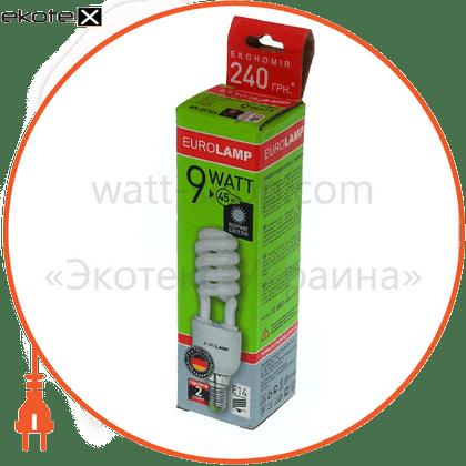 HS-09144 Eurolamp энергосберегающие лампы eurolamp t2 spiral 9w 4100k e14