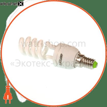 t2 spiral 9w 4100k e14 энергосберегающие лампы eurolamp Eurolamp HS-09144