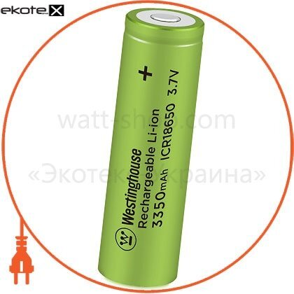 Westinghouse ICR18650-3350 аккумулятор литий-ионный westinghouse li-ion icr18650, 3,7v, 3350mah, 1шт