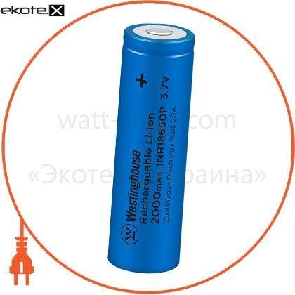 Westinghouse INR18650P-2000 аккумулятор высокотоковый литий-ионный westinghouse li-ion inr18650,  3,7v, 2000mah, 10с, 1шт