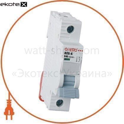 Onesto 3008 автоматический выключатель onesto 1п с 32а mcb 6ka (kc6-k)