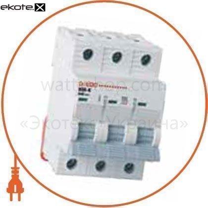 Onesto 5100 автоматический выключатель onesto 3п с 40а mcb 6ka (kc6-k)