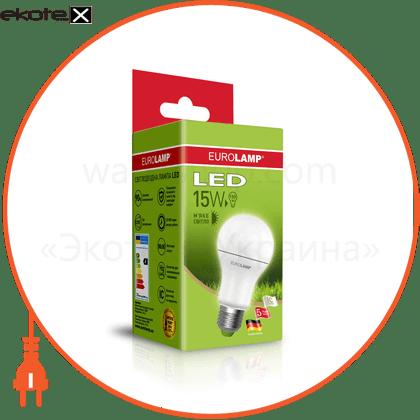 """eurolamp led лампа еко серія """"d"""" а60 15w e27 3000k (50) светодиодные лампы eurolamp Eurolamp LED-A60-15272(D)"""