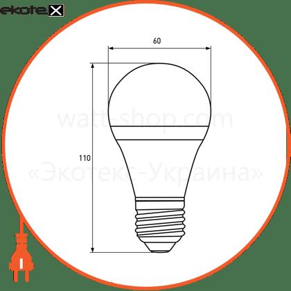 """eurolamp led лампа еко серія """"d"""" а60 15w e27 4000k (50) светодиодные лампы eurolamp Eurolamp LED-A60-15274(D)"""