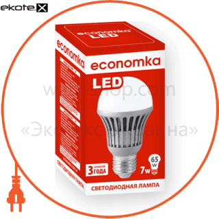 led лампа economka led a60 7w экономка светодиодные лампы экономка Экономка LED A60 7W E27/840