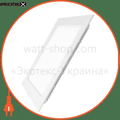 led panel (квадр,) 24w 4000k 220v светодиодные светильники eurolamp Eurolamp LED-DLS-24/4