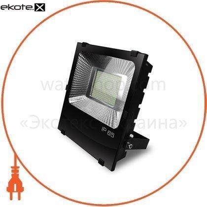 EUROELECTRIC LED SMD Прожектор черный с радиатором 200W 6500K (4)