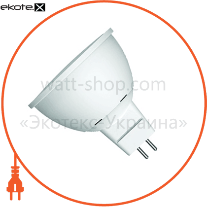 "eurolamp led лампа еко серія ""d"" smd mr16 5w gu5.3 3000k светодиодные лампы eurolamp Eurolamp LED-SMD-05533(D)"