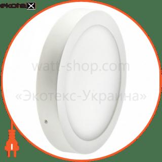 102166 Ledex светодиодные светильники ledex светодиодный светильник ledex, круг, накладной, 6w, 6500к холодно белый, матовое стекло, напряжение: ac100-265v, алюминий