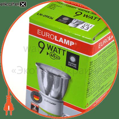 LN-09534 Eurolamp энергосберегающие лампы eurolamp tochka mr16 9w 4100k gu 5.3 скло