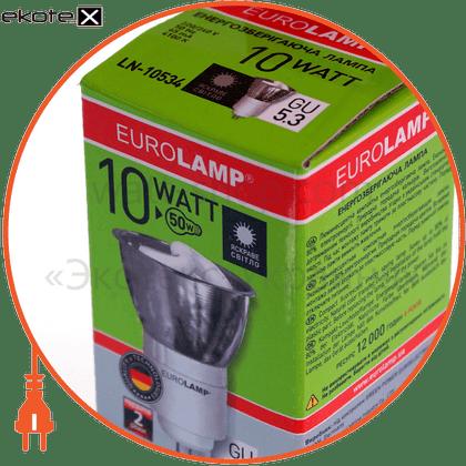 LN-10532 Eurolamp энергосберегающие лампы eurolamp tochka mr16 10w 2700k gu 5.3