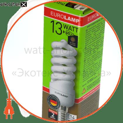 LN-13142 Eurolamp энергосберегающие лампы eurolamp t2 spiral 13w 2700k e14