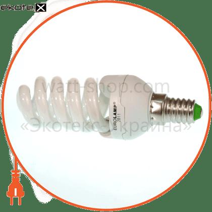 t2 spiral 13w 4100k  e14 энергосберегающие лампы eurolamp Eurolamp