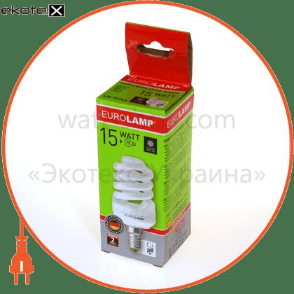 t2 spiral 15w 2700k e14 энергосберегающие лампы eurolamp Eurolamp