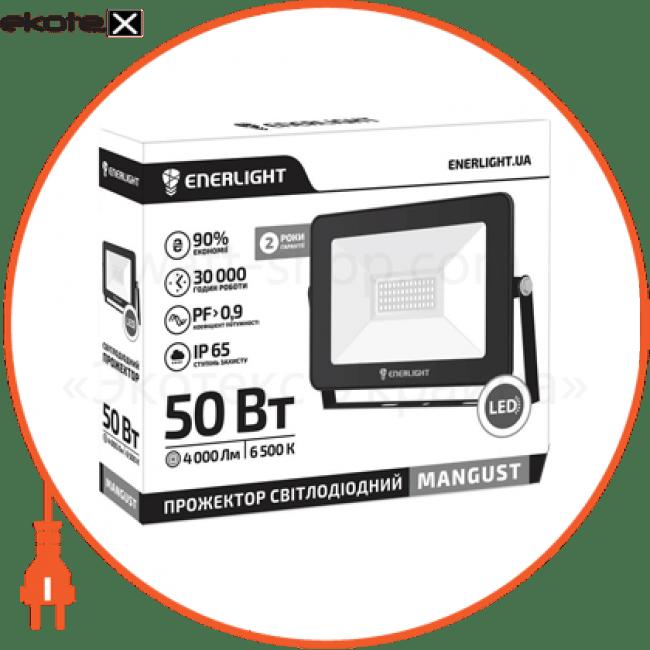 прожектор світлодіодний enerlight mangust 50вт 6500k светодиодные светильники enerlight Enerlight MANGUST50SMD80С