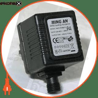 MAO-2400650 Люмьер комплектуюшие трансформатор для низковольтных гирлянд 650ма
