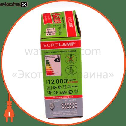 MLP-ES-10142 Eurolamp энергосберегающие лампы eurolamp 10w e14 2700k (мультипак)