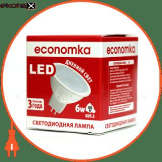 led лампа economka led mr16 6w gu5.3-4200 светодиодные лампы экономка Экономка LED MR16 6w GU5.3-4200