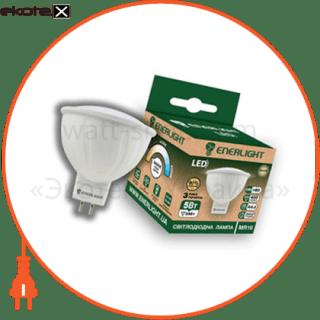 лампа светодиодная enerlight mr-16 5вт 3000k g5.3 светодиодные лампы enerlight Enerlight MR16G535SMDWFR