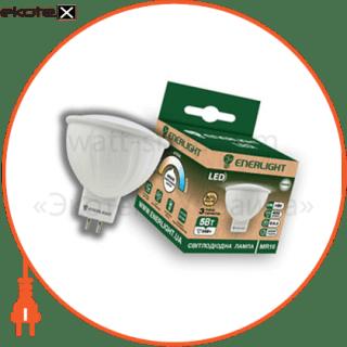 лампа світлодіодна enerlight mr-16 5вт 4100k g5.3 светодиодные лампы enerlight Enerlight MR16G535SMDNFR