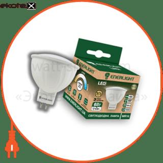 лампа светодиодная enerlight mr-16 6вт 3000k g5.3 светодиодные лампы enerlight Enerlight MR16G536SMDWFR