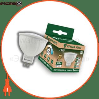 лампа светодиодная enerlight mr-16 6вт 4100k g5.3 светодиодные лампы enerlight Enerlight MR16G536SMDNFR