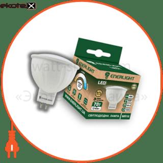 лампа светодиодная enerlight mr-16 7вт 3000k g5.3 светодиодные лампы enerlight Enerlight MR16G537SMDWFR