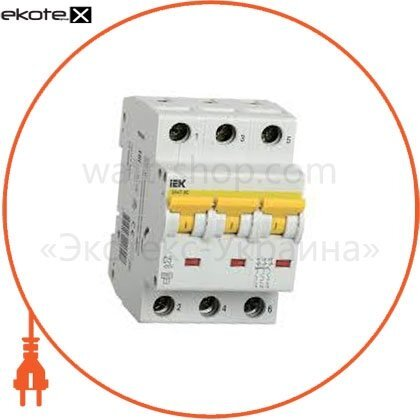IEK MVA41-3-040-B автоматический выключатель ва47-60 3р 40а 6ка b iek