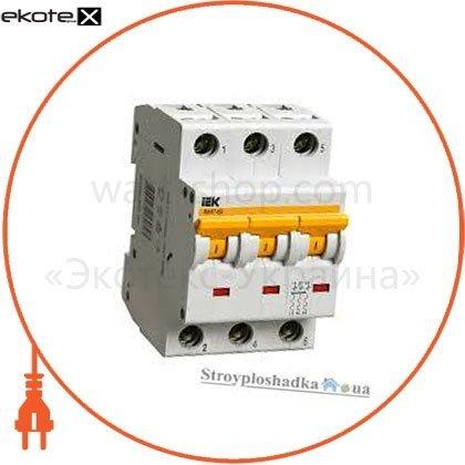 IEK MVA41-3-063-B автоматический выключатель ва47-60 3р 63а 6ка b iek