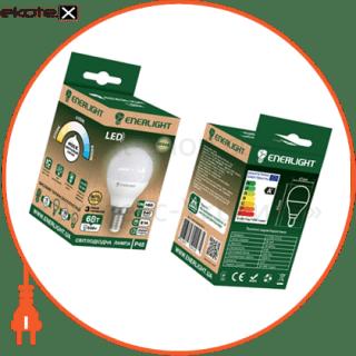 лампа світлодіодна enerlight p45 6вт 3000k e14 светодиодные лампы enerlight Enerlight P45E146SMDWFR