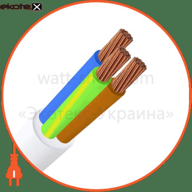 ПВС 3х0,75 ИнтерЭлектро ИнтерЭлектро кабель и провод пвс 3х0,75 интерэлектро