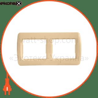 рамка двухместная pм-2-sq-i арт. pм-2-sq-i рамка АСКО-УКРЕМ