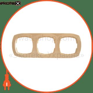 рамка трехместная pм-3-ov-i рамка АСКО-УКРЕМ Pм-3-Ov-I