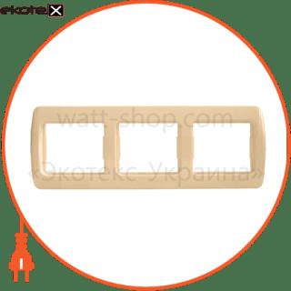 Pм-3-Sq-I АСКО-УКРЕМ рамка рамка трехместная pм-3-sq-i