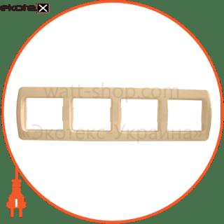 рамка четырехместная pм-4-sq-i рамка АСКО-УКРЕМ Pм-4-Sq-I