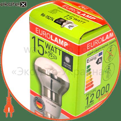 r63 15w 2700k e27 энергосберегающие лампы eurolamp Eurolamp