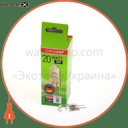 g4 20w 12v галогенные лампы eurolamp Eurolamp SG-02004