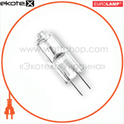 g4 35w 12v блистер 4 лампы галогенные лампы eurolamp Eurolamp