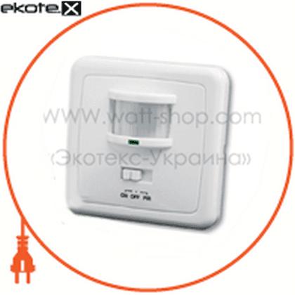 "euroelectric датчик руху ""розетка"" на стіну 160`, 4-9 м, (100)"