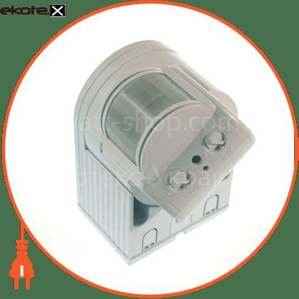 """180гр, макс.12 м, ip44 """"куб"""" датчики движения euroelectric Eurolamp ST-08WWS"""