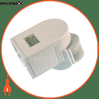 "ST-08WWS Eurolamp датчики движения euroelectric euroelectric датчик руху ""куб"" на стіну 180`, макс.12 м, ip44, (50)"