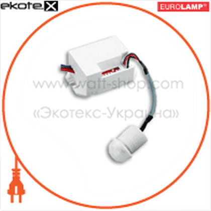 100х360гр, макс.8 м, ip44 датчики движения euroelectric Eurolamp ST-24WCS