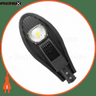 светильник led уличный консольный st-30-04 30вт 6400к 2700лм серый smd светодиодные светильники евросвет Евросвет 000040177