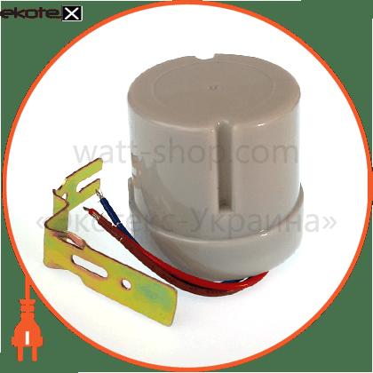 вимикач сутінковий, 25а, ip44 датчики движения euroelectric Eurolamp ST-303WSR