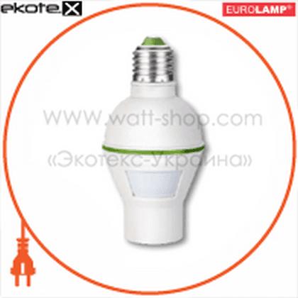 с цоколем е27, 120гр, макс.9 м, ip33 датчики движения euroelectric Eurolamp ST-450LH