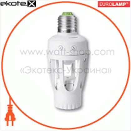 с цоколем е27, 360гр, макс.9 м, ip20 датчики движения euroelectric Eurolamp ST-451LH