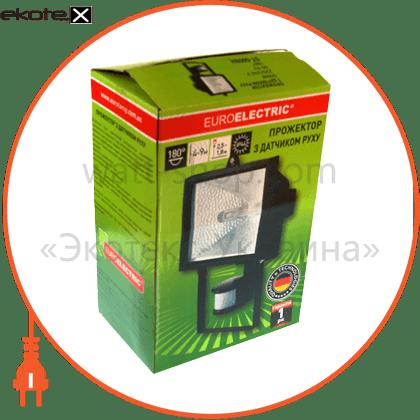 180гр, 4-9 м, ip64 прожектор с датчиком  движения датчики движения euroelectric Eurolamp ST-500BH
