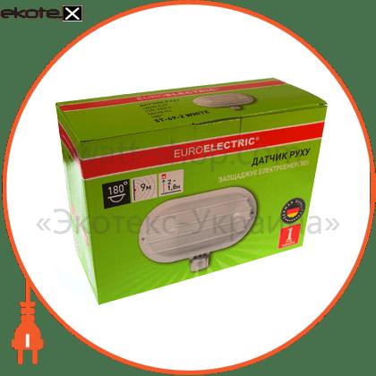 «плафон #» білий датчики движения euroelectric Eurolamp ST-69-2 WHITE
